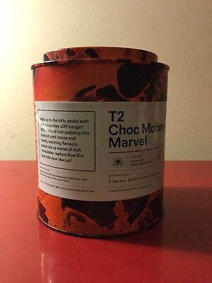 T2 Choc Molten Marvel Tea LIMITED EDITION Sold Out 120g / 4.2oz Tin NEW