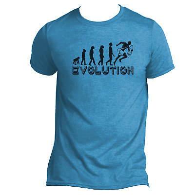 Evolution Lifeguard Mens Funny T-Shirt From Ape to Lifeguard Humour