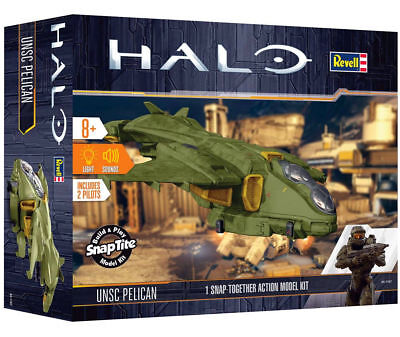 REVELL UNSC HALO Pelican 1:100 Snap Action Model Kit 00061 Models