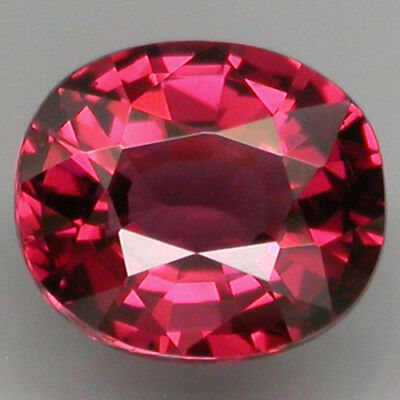 2.40 ct. 100%NATURAL TOP PURPLE PINK RHODOLITE GARNET(Malawi Garnet) CLEAN