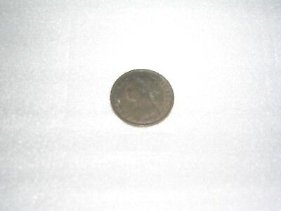 Great Britain Farthing, 1894 Queen Victoria circulated