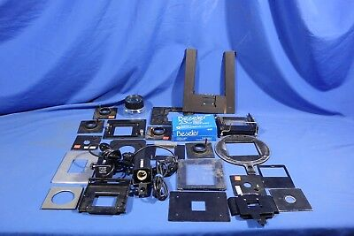 LOT of Assorted Beseler Accessories  #L4143BP AS-IS