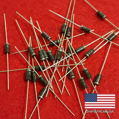 (50 Pack) 1N4004 Diodes 1 Amp - Quick & Free Shipping from USA!!!