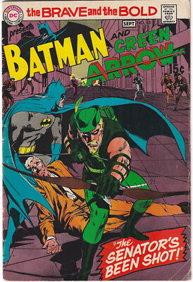 BRAVE & BOLD 85 with Adams' new Green Arrow