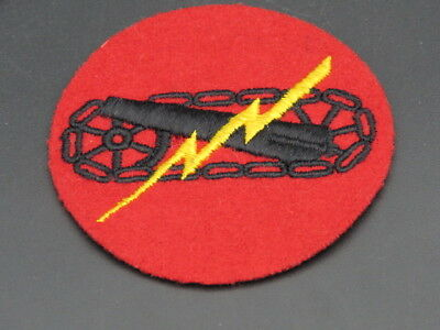 Uncommon Original 68Th Field Arty Regt (Mech) Patch-Me On Wool