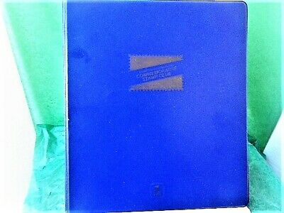 USPS Blue Collector's Club Album (Binder and Pages for 1986 def and 1987commem)