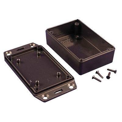 Hammond 1591XXMSFLBK GPABS Enclosure Flanged Lid 85 x 56 x 24mm Black
