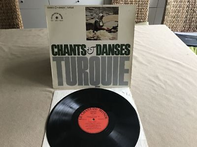CHANTS & DANSES TURQUIE French-Orig.Flipback MINT