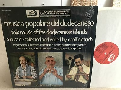 FOLK MUSIC OF THE DODECANESE ISLANDS IT-Orig.MINT Wolf Dietrich IN SHRINK