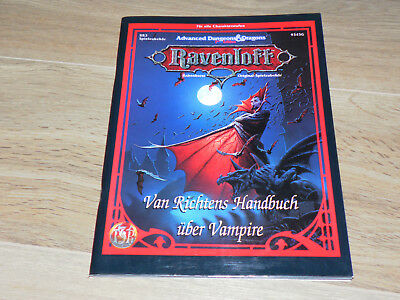 AD&D 2nd Edition RAVENLOFT - Van Richtens Handbuch über Vampire Dungeons&Dragons