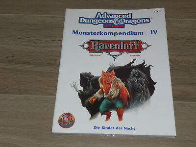 AD&D 2nd Edition RAVENLOFT - Monsterkompendium IV Die Kinder der Nacht
