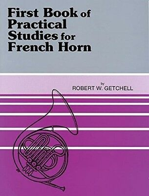 SECOND BOOK of PRACTICAL STUDIES for FRENCH HORN - NEU - für HORN BAND 2