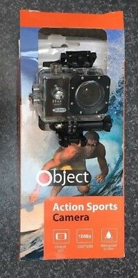 Object Action Sports Camera 1080p Waterproof