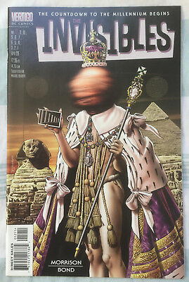 INVISIBLES (Vol 3) #12 by Grant Morrison and Philip Bond - DC/VERTIGO COMICS