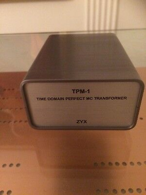 Time Domain Perfect Moving Coil Step Up Transformer - ZYX TPM-1 - Brand New
