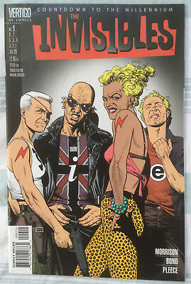 INVISIBLES (Vol 3) #9 by Grant Morrison and Philip Bond - DC/VERTIGO COMICS