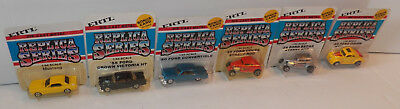 (6) 1981 ERTL Replica Series FORD 1:64 Scale VEHICLES ~ Unpunched ~ NEW!!!