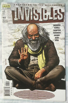 INVISIBLES (Vol 3) #4 by Grant Morrison, Phillip Bond & more - DC/VERTIGO COMICS
