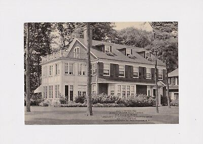 1930's Cleveland Oh Advertising Creo-Dipt Shingles Home Architects Howell Thomas