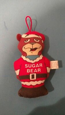 vintage 1990 sugar bear General Foods cereal collectible