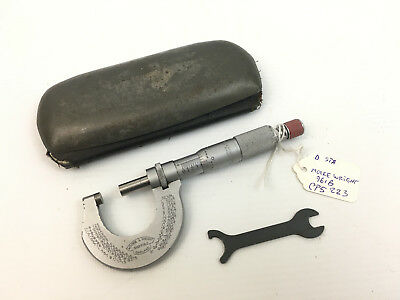 Vintage Boxed Moore & Wright No 961B Micrometer Outside  External