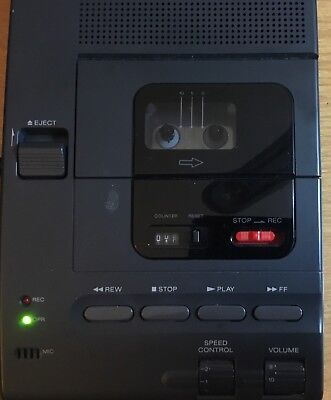 SONY Microcassette Transcriber M-2000, Recorder, Power Adaptor, Foot Pedal