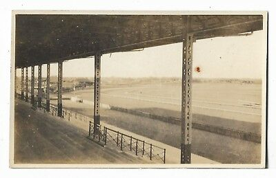 Shanghai Race Club Race Course 1927 RPPC: Parts of Stands & Racecourse Shanghai