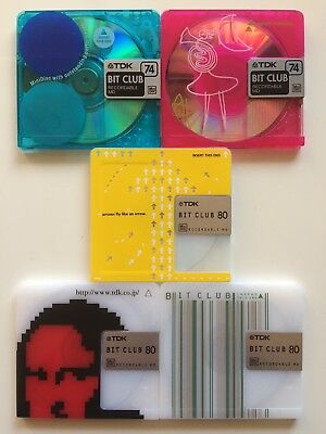 Minidisc TDK Bit Club MD Limited Edition Rare Collection New