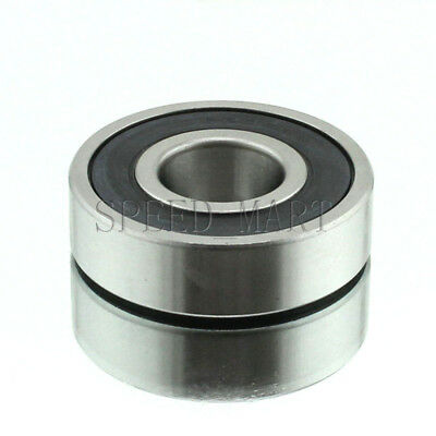 6 Pcs 62 17 mm Rubber Shields 6305 2RS High Quality Ball Bearing 25
