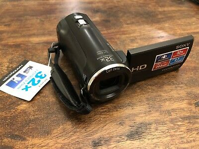 SONY Handycam HDR-CX220 (Black) Camcorder