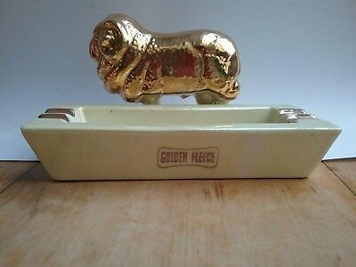 Original Golden Fleece Ashtray - Wembley Ware