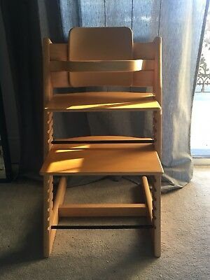 Stokke Tripp Trapp High Chair With Baby Set_Beech Wood