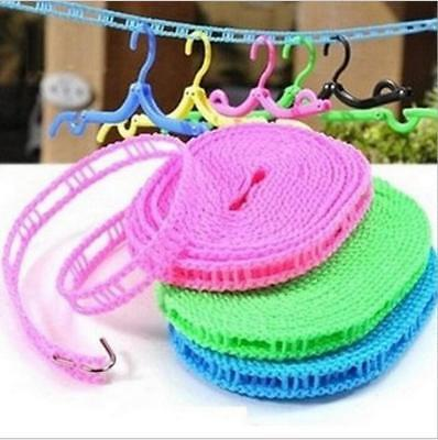 Outdoor Travel Clothesline Laundry Non-slip Washing Clothes Line Rope Convenient