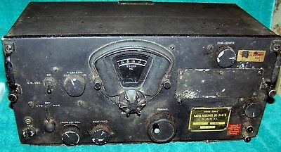 BC-348-R  US Army Air Corps Receiver .. Clean & Original .. Never Modified