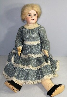 "Antique 24"" ARMAND MARSEILLE Doll COMPOSITION BODY Bisque Head OUTFIT German"