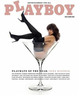 Playboy Magazine ~ May/june 2018 ~ Playmate Of The Year Issue