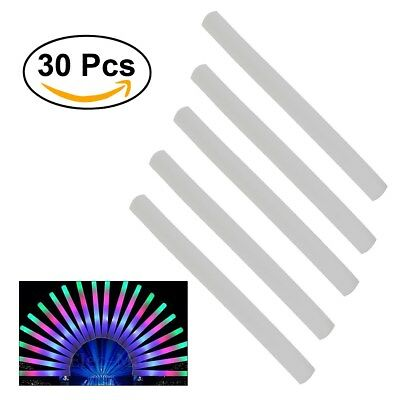 30Pcs Glow Sticks Bulk Light Up Foam Stick LED Wand Rally Party Cheer Stick AU