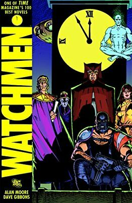 Watchmen HC by Moore, Alan Book The Cheap Fast Free Post
