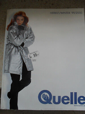 Quelle Katalog Herbst/Winter 1999/2000