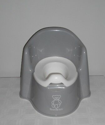 Baby Bjorn  2 Piece High Back Potty Chair  Grey