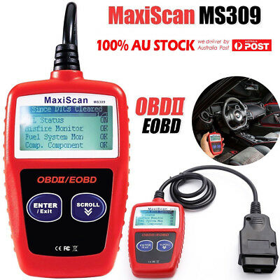 Autel MaxiScan MS309 CAN OBDII Diagnostic tool OBD2 Scanner–Scan Tool for Check