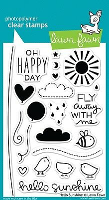 Lawn Fawn Die & Stamp Set - Hello Sunshine