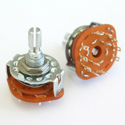 5 Position Rotary Switch For Varitone Style Circuits. Guitar or Bass E69