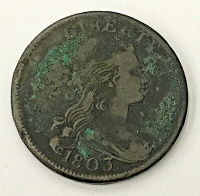 1803 Draped Bust United States Large Cent VF Details