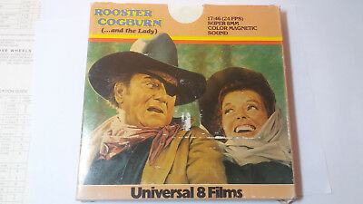 Rooster Cogburn (... and the lady) Super 8 John Wayne Western Film
