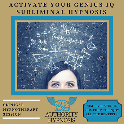 Activate Your Genius IQ Hypnosis, Think Smarter, Increase Brain Power, Boost IQ