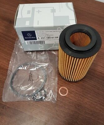 New Genuine Mercedes-Benz Sprinter Vito OM651 Engine oil filter and washer