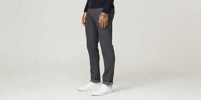 Size 28S Relaxed Fit BNWT. Rapha Dark Grey Loopback Trousers