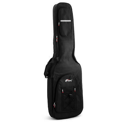 Tiger 18mm Padded Bass Guitar Gig Bag With Back Straps & Handle