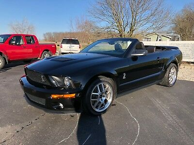 2009 Ford Mustang  2009 Ford Mustang Shelby GT 500 Convertible